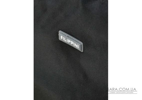 Дорожня Сумка на колесах нейлон FILIPPINI 2/1 601 black Podium