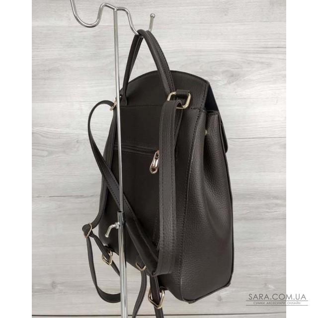 f4b09539ef42 Купить Молодежный сумка-рюкзак Сердце шоколадного цвета WeLassie ...