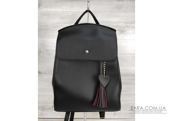 3ec1b77193e8 Купить Молодежный сумка-рюкзак Сердце серого цвета WeLassie дешево ...