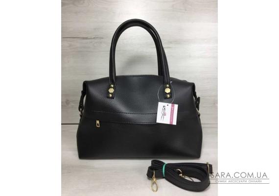 Жіноча сумка чорного кольору WeLassie