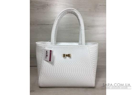 Жіноча сумка білого кольору WeLassie