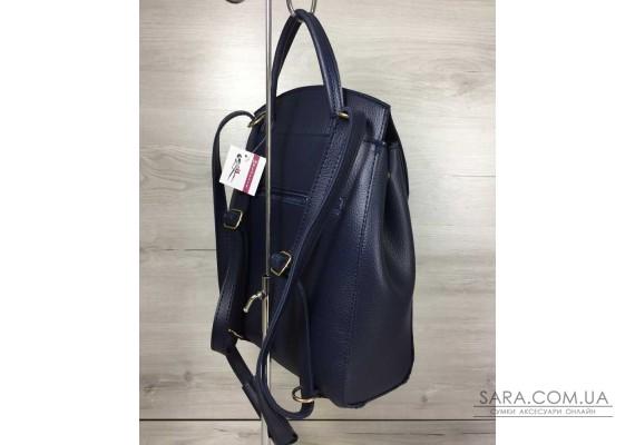 Молодіжний сумка-рюкзак Серце синього кольору WeLassie