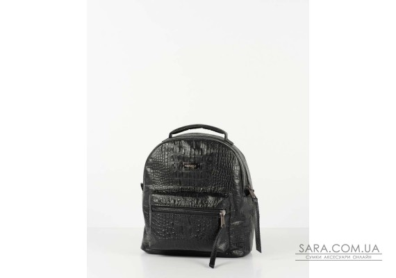 "Рюкзак ""SMALL"" кроко, чорний"