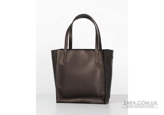 "Сумка ""shopper bag 01"" bronze"