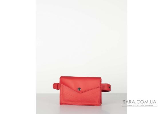 """сумка-конверт"" червона"