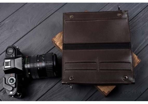 """Чоловічий гаманець """"DOUBLE BROWN"""""""