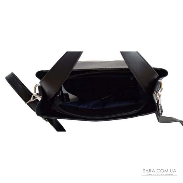 Купити 516 сумка екошкіра чорна Lucherino дешево. Україна