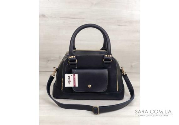 Жіноча сумка Лілі синього кольору WeLassie