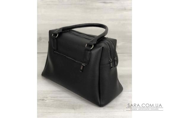 Жіноча сумка Агата чорного кольору WeLassie