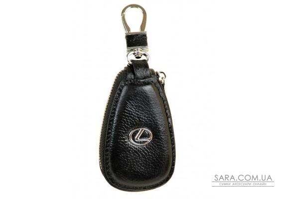 Гаманець Ключниця Авто шкіра F633 Lexus black Podium