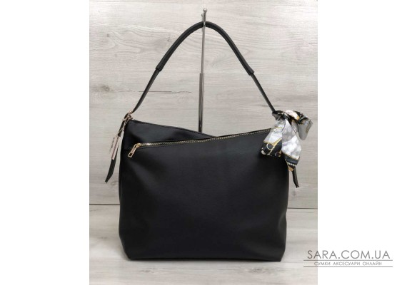 Жіноча сумка Нея чорного кольору WeLassie