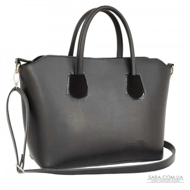 Купити 564 сумка чорна лак замш Lucherino дешево від виробника ... 6e3a196f3975f