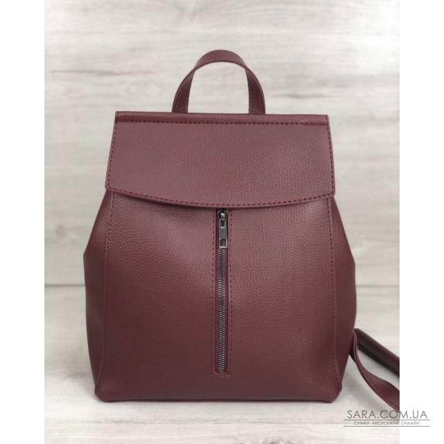 Молодіжний сумка-рюкзак Фабі бордового кольору WeLassie дешево