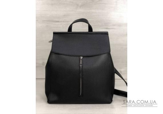 Молодіжний сумка-рюкзак Фабі чорного кольору WeLassie