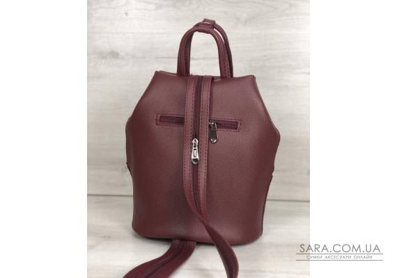 Молодежный рюкзак Габи бордового цвета WeLassie