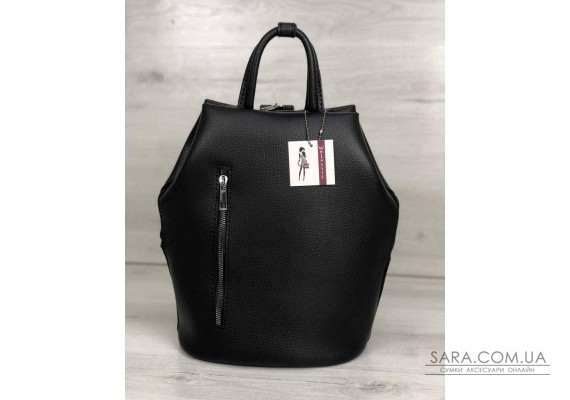 Молодежный рюкзак Габи черного цвета WeLassie