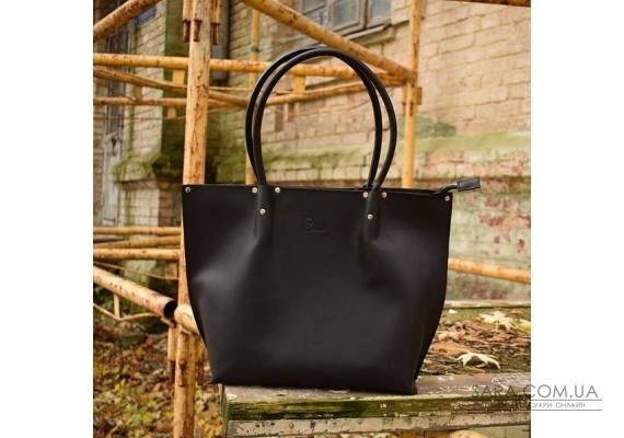 Сумка шкіряна Shopper Black 894076 Babak