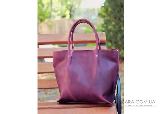 Сумка шкіряна Shopper Marsala 894066 Babak