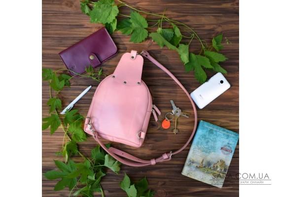 Сумка шкіряна Sling-Bag Рожевий 924093 Babak