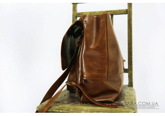 Рюкзак шкіряний Sampo Brandy 895088 Babak