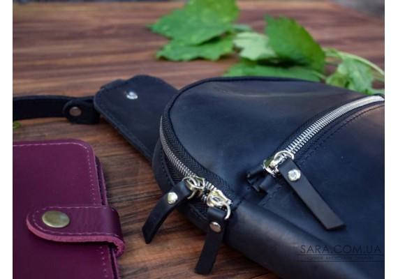 Сумка шкіряна Sling-Bag Black 924076 Babak