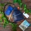 Сумка шкіряна Sling-Bag Blue 924062 Babak