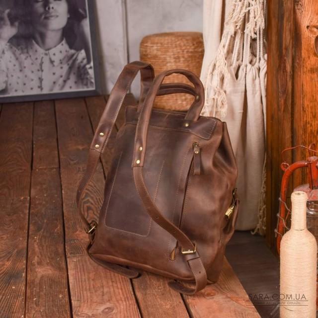Рюкзак шкіряний Trip Brown 896051 Babak дешево. Handmade