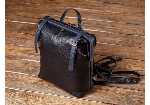 Рюкзак шкіряний MONE Comb BsB Dark 897012/62 Babak