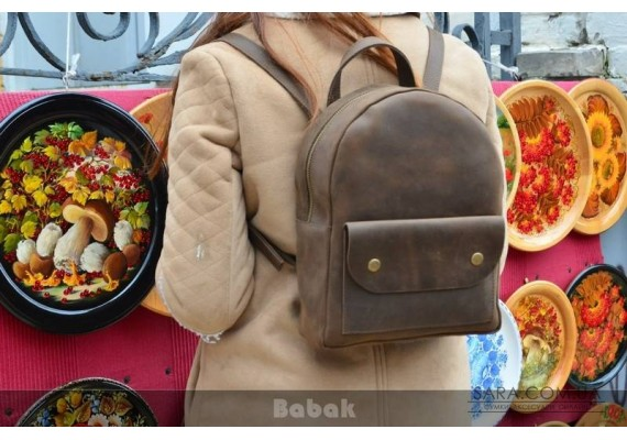 Шкіряний рюкзак Terra 873051 Babak