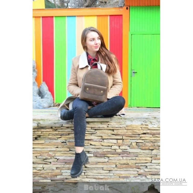 Шкіряний рюкзак Terra 873051 Babak дешево. Handmade