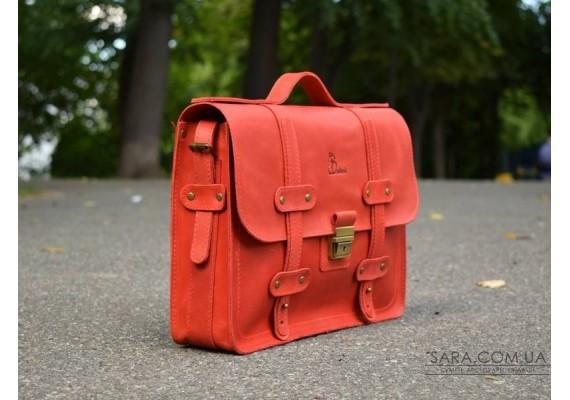 Портфель шкіряний Folio Red 863078+ Babak