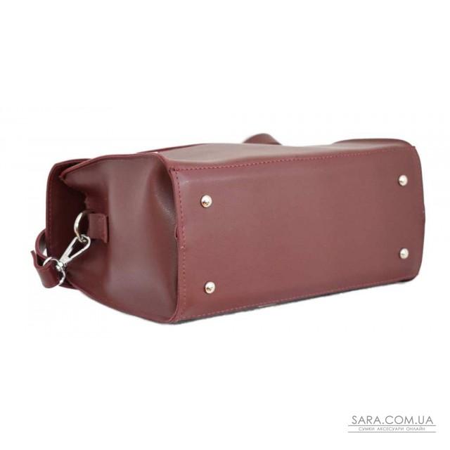 Купити 572 сумка бордо н Lucherino дешево. Україна