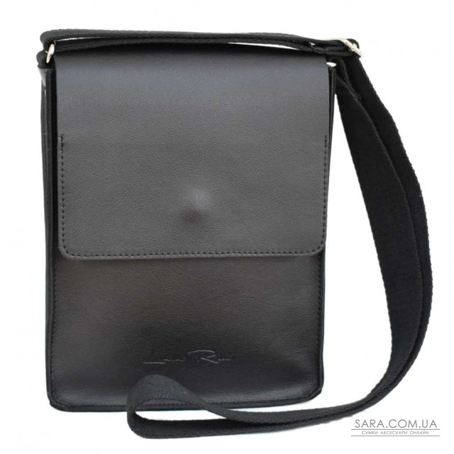 Купити 566 сумка шкіра чорна Lucherino дешево. Україна