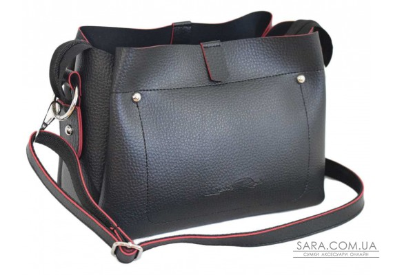 574 сумка чорна чн Lucherino