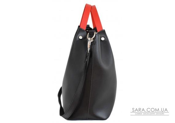 Купити. 575 сумка чорно червона Lucherino 575 сумка чорно червона Lucherino 0fe4b76aa5f98