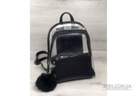 Рюкзак молодіжний Бонні силікон з чорним WeLassie