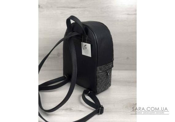 Стильний молодіжний рюкзак Ріна срібло WeLassie
