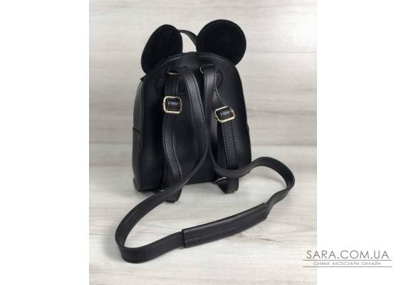 Сумка - рюкзак Міккі чорного кольору WeLassie