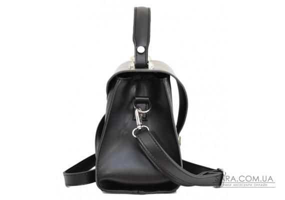 572 сумка чорний срібло н Lucherino