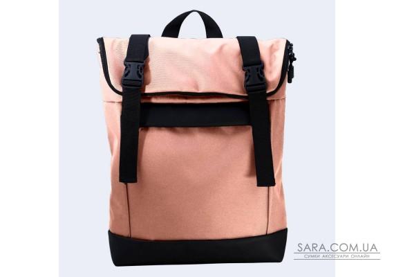 Персиковий рюкзак Rolltop medium TwinsStore