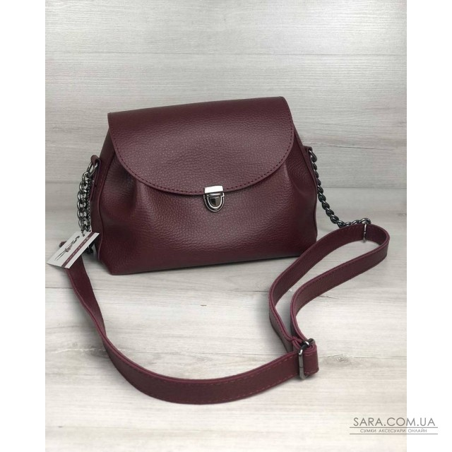 731ddfb917a0 Купить Молодежная сумка Софи бордового цвета WeLassie дешево от ...