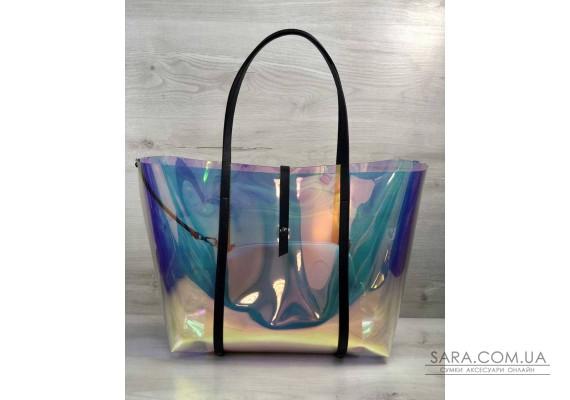2в1 Молодежная Перламутровая силиконовая сумка WeLassie