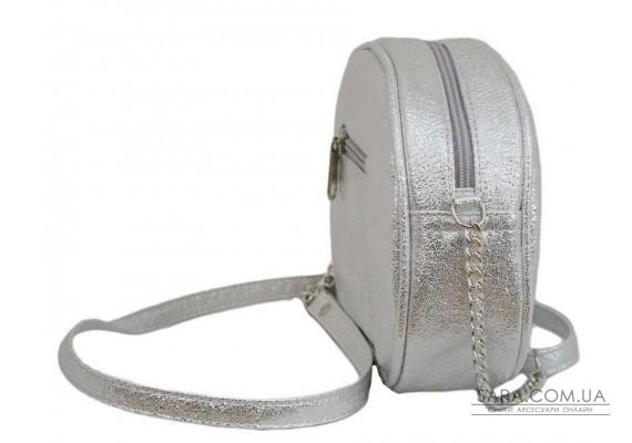 527 сумка серебро светлое н Lucherino