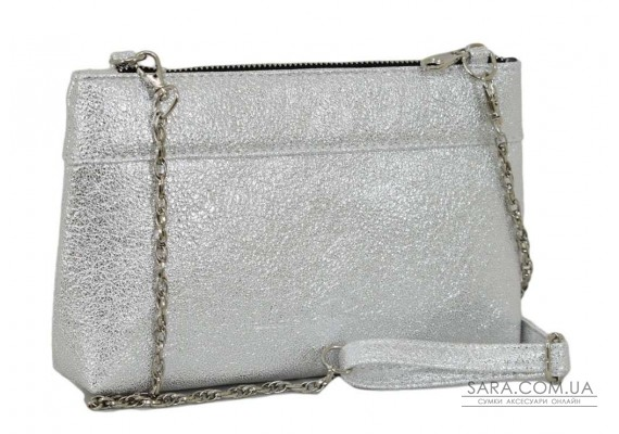 419 сумка-клатч серебро светлое н Lucherino