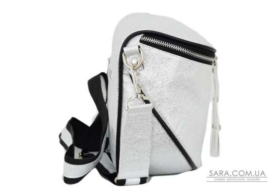 603 сумка срібло світле н Lucherino