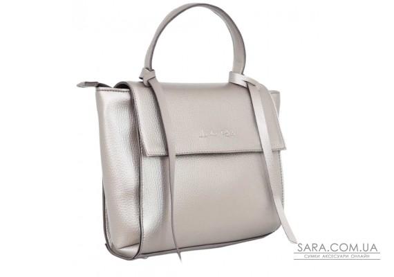598 сумка срібна бронза н Lucherino