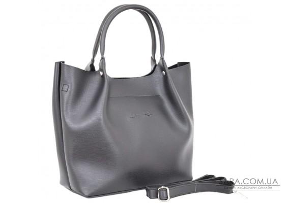 520 сумка чорна тиснення н Lucherino