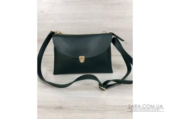 Молодежная женская сумка Виола зеленого цвета WeLassie