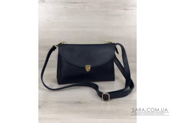 Молодежная женская сумка Виола синего цвета WeLassie