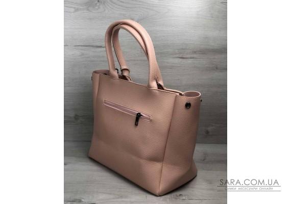 2в1 Молодіжна сумка Аланна бежевого кольору WeLassie